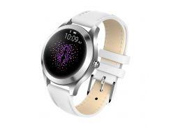 Умные смарт часы King Wear KW10 с защитой от воды Белый (ftkingwkw10wh)