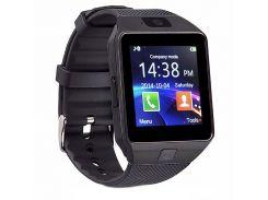 Смарт-часы UWatch DZ09 Black (hub_SGLG85893)