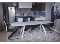Стол обеденный раскладной Nicolas London Белый (41123)