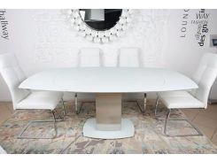 Стол обеденный раскладной Nicolas Houston Белый (41067)