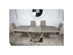 Стол обеденный Nicolas Detroit Мокко (45760)