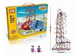 электромеханический конструктор loz amusement park roller coaster 785 деталей (2028)