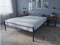 Кровать MELBI Лара Люкс Двуспальная 120х190 см Ультрамарин