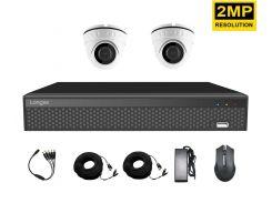 Комплект видеонаблюдения на 2 камеры внутренний Longse AHD 2IN 2 мегапикселя (100036)