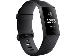 Фитнес-браслет Fitbit Charge 3 Black/Graphite FB409GMBK (F00185112)