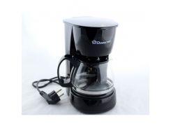 Капельная кофеварка Domotec MS-0707 кофе машина Черный (kjee45112)