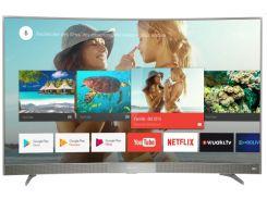 Телевизор Thomson 55UC6586 / 55 дюймов / изогнутый экран / Android 9.0 / Ultra HD 4К / саундбар с настенным кронштейном (55UC6586)