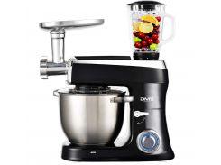 Кухонная машина DMS 3в1 2100w Black (hub_qKYI68543)