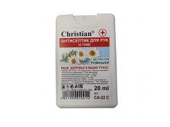 Антисептик Christian CA-22 С для рук с экстрактом ромашки 20 мл (hub_yhqL18357)
