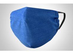 Маска MasOK многоразовая Синяя (402-1)