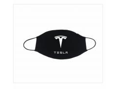 Маска png.print з принтом Tesla Чорний (0014)