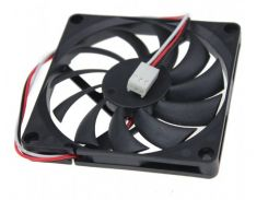 Вентилятор CJY 80 х 10 мм Черный (DC-8010S3P )