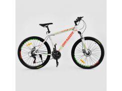 Велосипед CORSO DRAGON Белый (IG-75902)