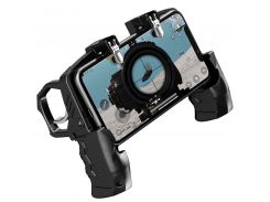 Беспроводной геймпад-триггер с пистолетными ручками джойстик для смартфона Sandy Union PUBG Mobile K21 (055)