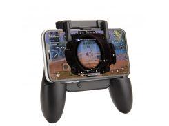Беспроводной сенсорный геймпад Sandy триггер для смартфонов Union PUBG Mobile M18 Черный (063)