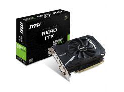 Видеокарта MSI GeForce GTX1050 Ti 4096Mb AERO ITX OC (GTX 1050 Ti AERO ITX 4G OC) (U0237636)