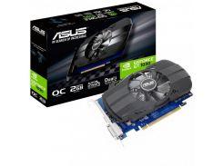 Видеокарта Asus PCI-Ex GeForce GT 1030 Phoenix OC 2GB GDDR5 (PH-GT1030-O2G) (U0244688)