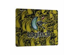 Игровая поверхность X88 Logitech Color 24х20 см Желтый (TK1321)