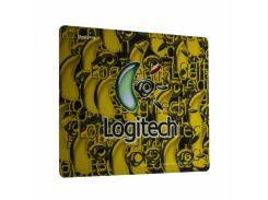 Игровая поверхность X88 Logitech Color 30х25 см Желтый (TK1327)