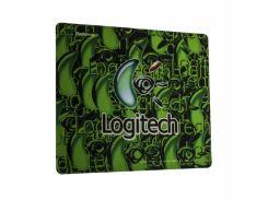 Игровая поверхность X88 Logitech Color 30х25 см Зеленый (TK1328)