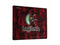 Игровая поверхность X88 Logitech Color 30х25 см Красный (TK1329)
