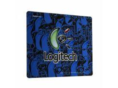 Игровая поверхность X88 Logitech Color 30х25 см Синий (TK1330)
