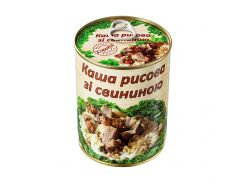 Каша рисовая со свининой L'appetit 340 г (4820177070103)