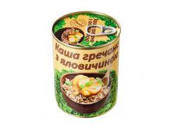 Каша гречневая с говядиной L'appetit 340 г (4820177070240)
