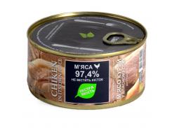Мясо куриное в собственном соку Zdorovo 325 г (4820184610040)