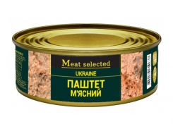 Паштет мясной Meat Selected 240 г (4820184610637)