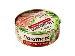 Паштет L'appetit из говяжьей печени 240 г (4820177070042)