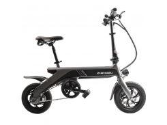 Электровелосипед Zhengbu С2 Matt Series Серый (298385)