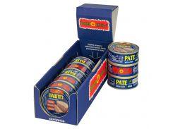Упаковка паштетов с печенью PowerBANKa 8 шт х 100 г (46110619)