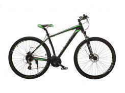 """Велосипед Oskar 29"""" JURA Черно-зеленый (29-1806h-gn)"""