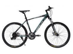 """Велосипед Oskar 26"""" EXPLORER 1.0 Черно-голубой (26-1804-bk)"""