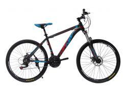 """Велосипед Oskar 26""""SW-001 Черный-красный-синий (26-1814-br)"""