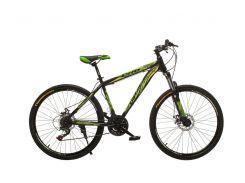 "Велосипед Oskar 26""M123 Черно-зеленый (26-m123-bk+wt)"