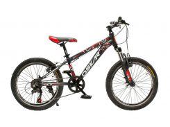 """Велосипед Oskar 20""""SCARP Черно-красный (20-1833-rd)"""