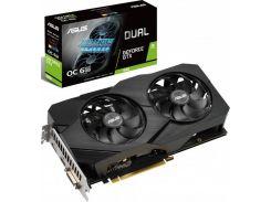 Видеокарта GF GTX 1660 6GB GDDR5 Dual Evo OC Asus (DUAL-GTX1660-O6G-EVO)