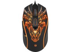 Мышь Defender Monstro GM-510L Black (52510)