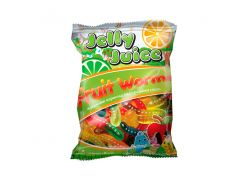 Жувальний мармелад Jelly Juice фруктові черв'ячки 70 г (103893)