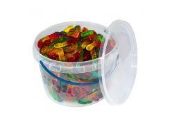 Жувальний мармелад Jelly Juice фруктові черв'ячки 450 г (103899)