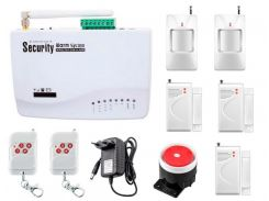 Сигнализация GSM G10 Pro для 3-комнатной квартиры (HDYKFD99DKDMD)