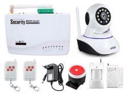Сигнализация GSM Kerui G10  + WI-Fi IP камера (HDYFDKK78DJFF)