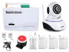 Сигнализация GSM Kerui G10А + WI-FI камера (GFDJFKKBFBFY7FHH)