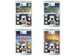 Микс Cryovit овсянка + суп чечевичный + пюре + суп гороховый 10 шт х 4 40 упаковок 2.15 кг (0064)