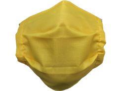 Защитная многоразовая маска 50 шт Желтый (110006)