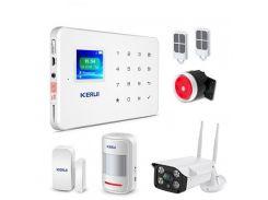 Беспроводная GSM сигнализации KERUI G-18 + наружная IP WI-FI камера (LKLSKD0S)
