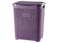 Корзина для белья VIOLET HOUSE PLUM Виолетта (6513095)
