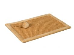 Когтеточка-коврик Мур-Мяу для кошки Бежевая (hub_qNco65837)